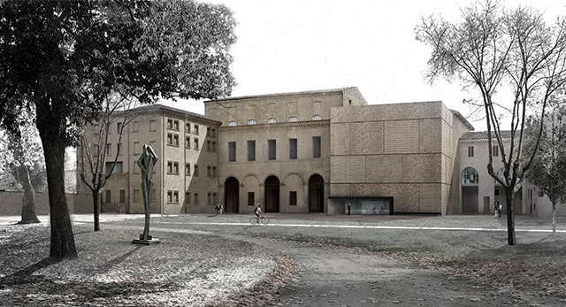 Extension of Palazzo Massari